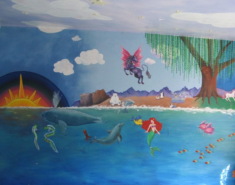 Olivia's Mural