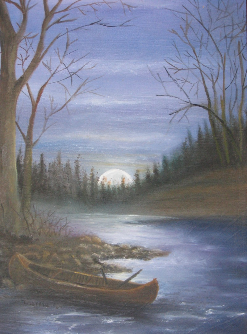 Moonlight Canoe