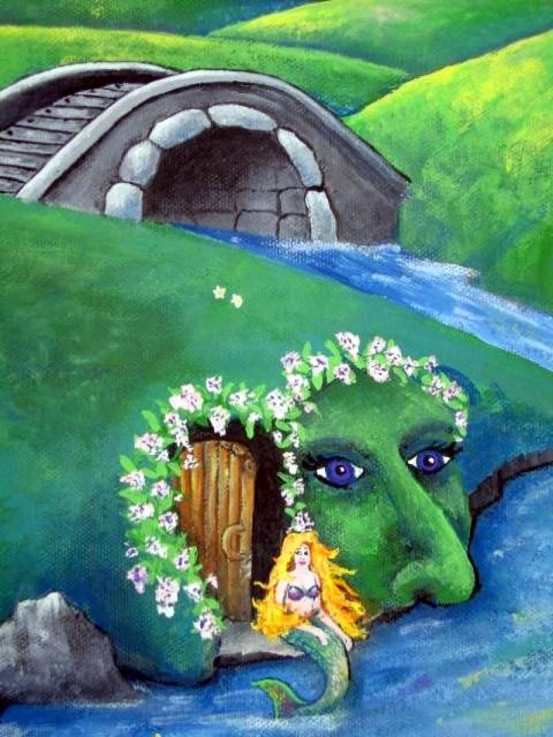 Isabelle's Daydreams Detail ~ Mermaid