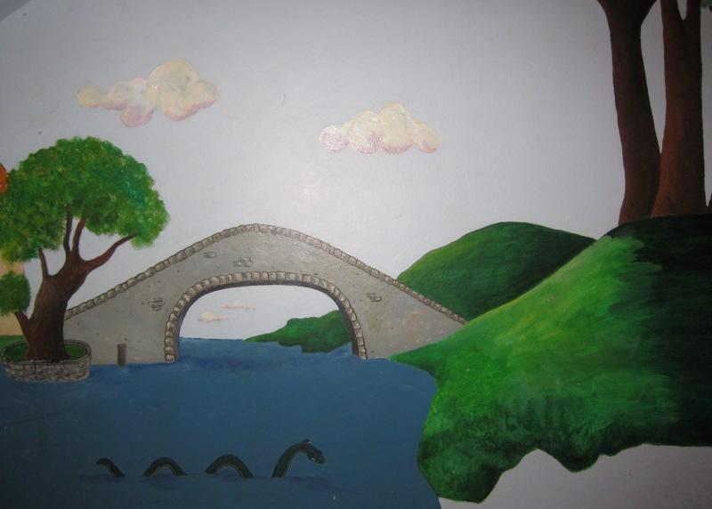 Sea Serpent Mural