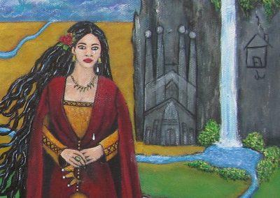 Nothing Poetic Princess detail