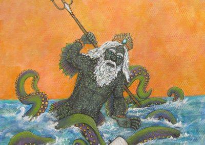 Nothing Poetic Poseidon detail